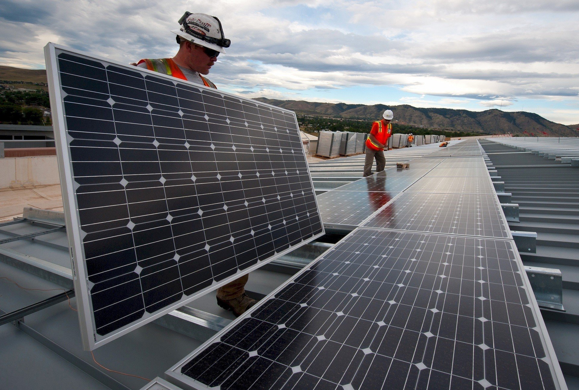 В США активно растет количество солнечных установок