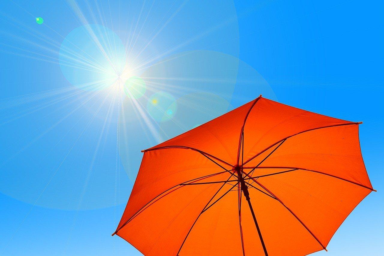 Британцы столкнулись с самым высоким уровнем ультрафиолета