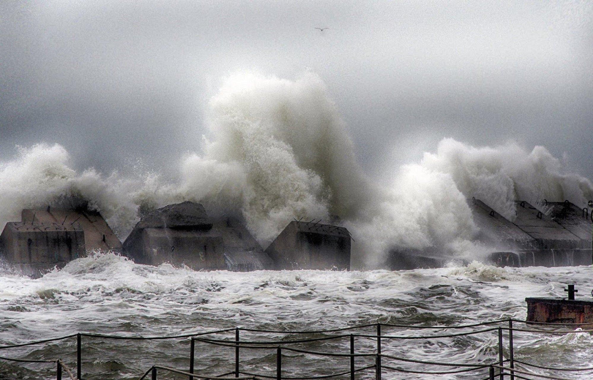 На Одессу надвигается сильнейший шторм
