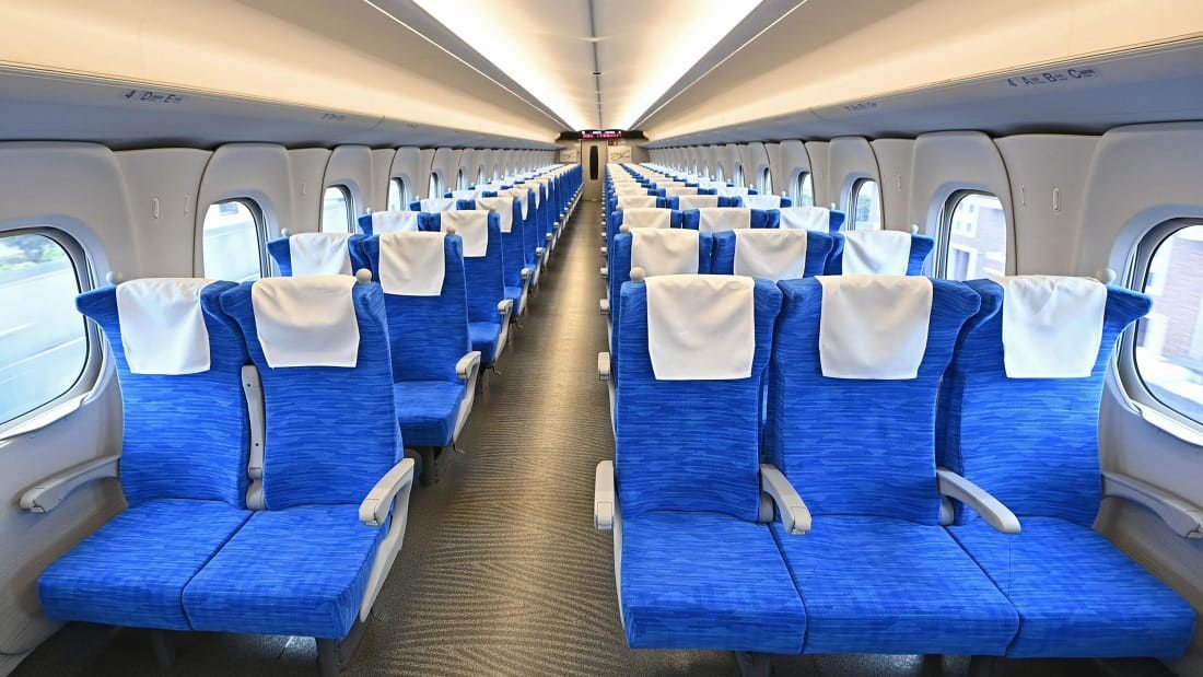 В Японии запущен сверхскоростной пассажирский экспресс