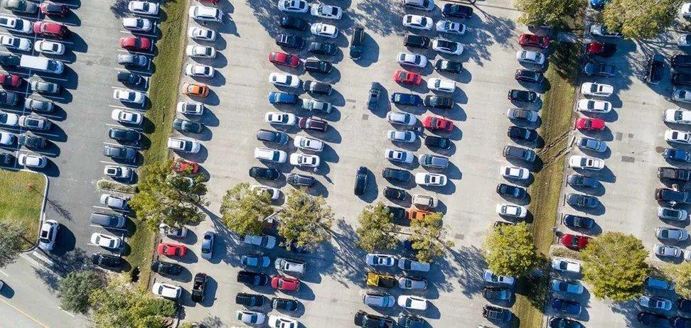 Как часто водители теряют авто на парковках