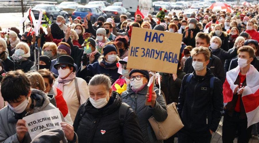В Беларуси происходит радикализация протестов