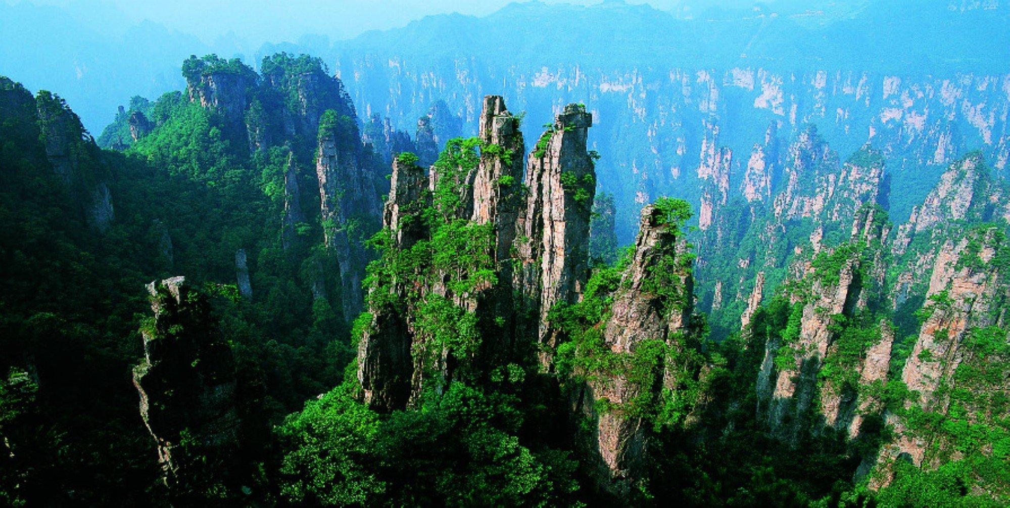 Захватывающие фото парка Чжанцзяцзе