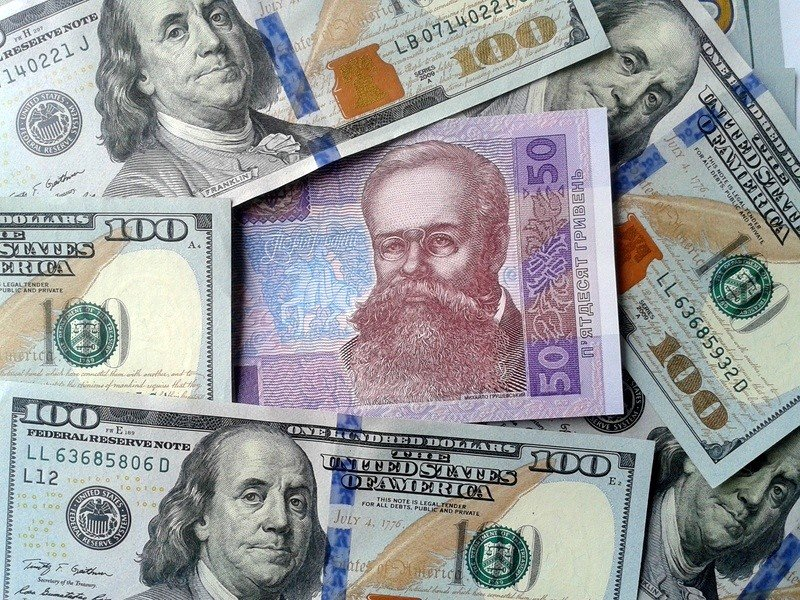 Курс валют в банках Бахмута на вторник, 27 октября