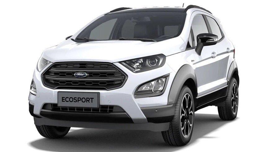 Новый Ford EcoSport Active: первые изображения