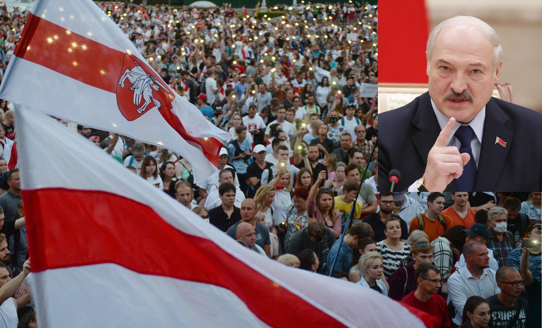 Лукашенко обвинил протестующих в терроризме