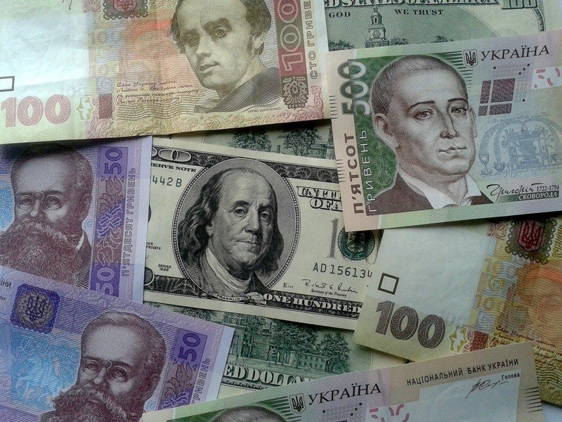 Курс валют в банках Борисполя на пятницу, 13 ноября