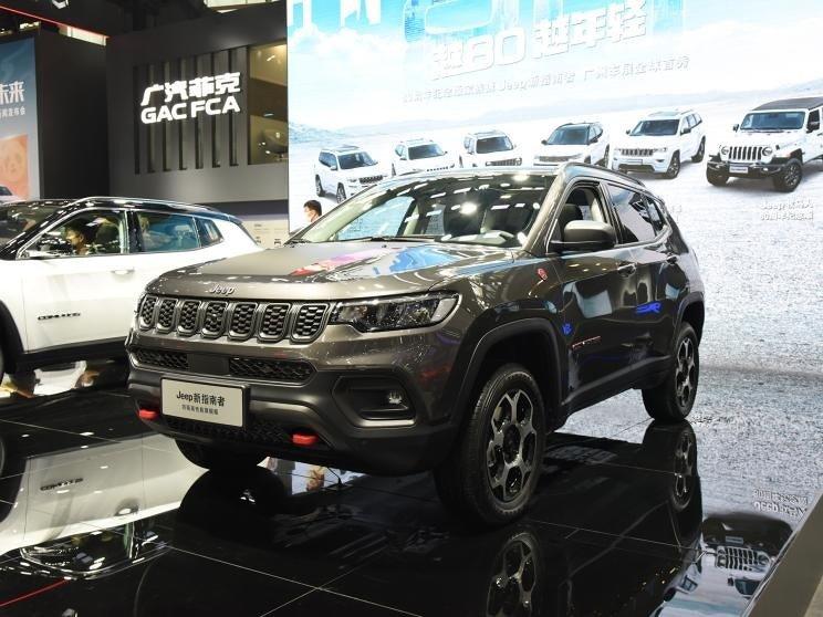 Jeep Compass 2022 представили в обновленном виде