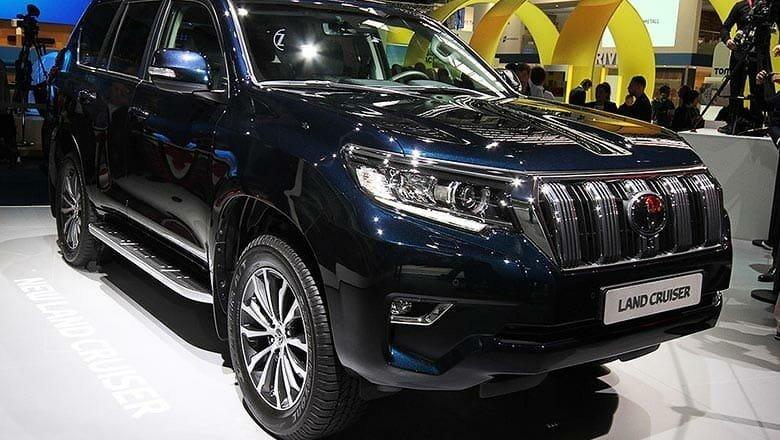 ГБР купило Land Cruiser и еще 5 авто на 8 млн