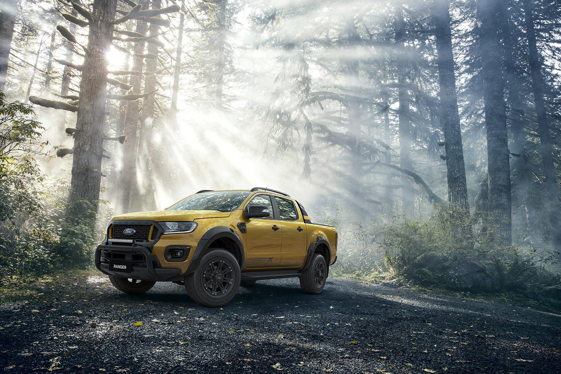 Ford Ranger Wildtrak X – самая экстремальная модификация