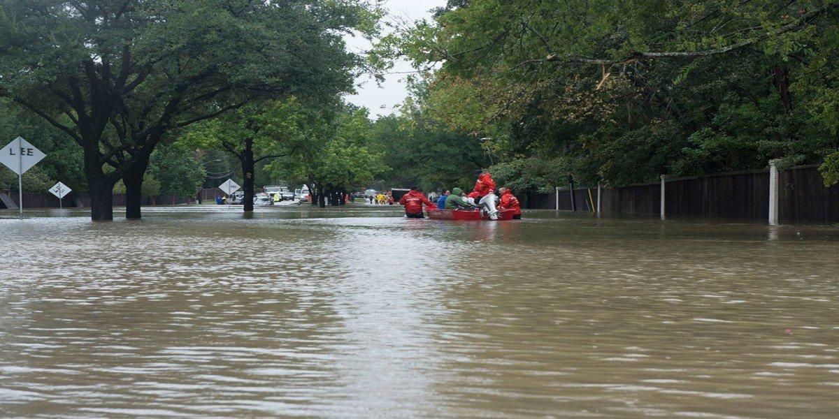 В Израиле сильные наводнения из-за штормов