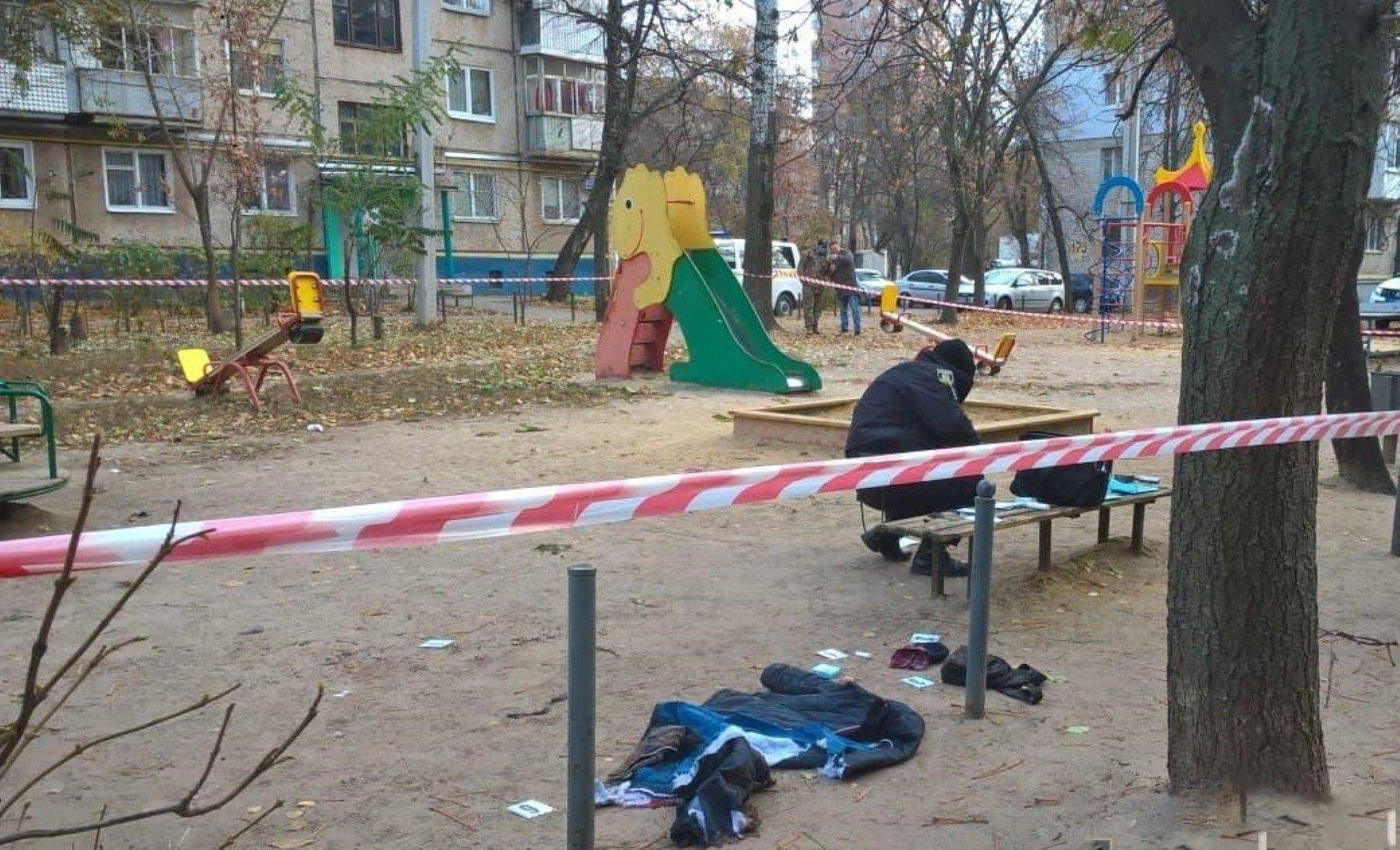 Взрыв гранаты в Харькове - подробности