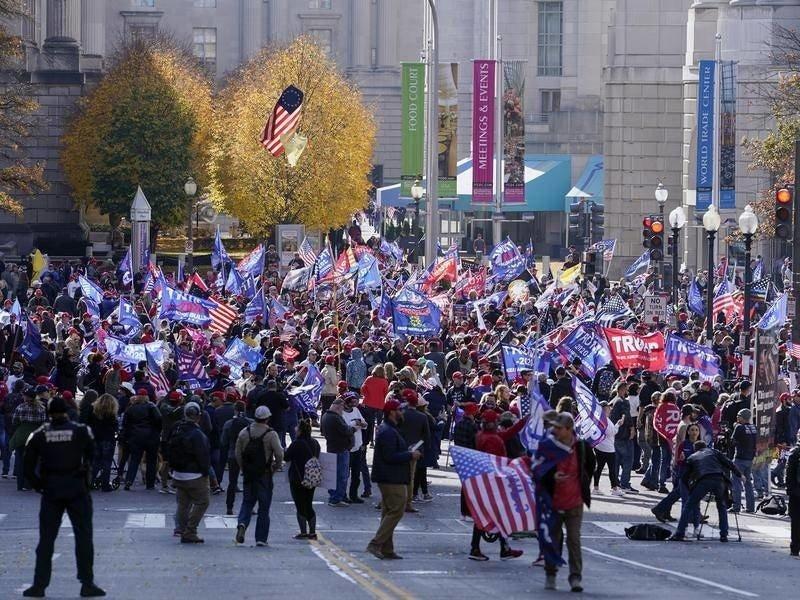 Беспорядки в Вашингтоне: задержанные и раненые