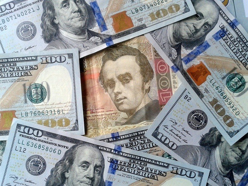Курс валют в банках Ужгорода на понедельник, 23 ноября