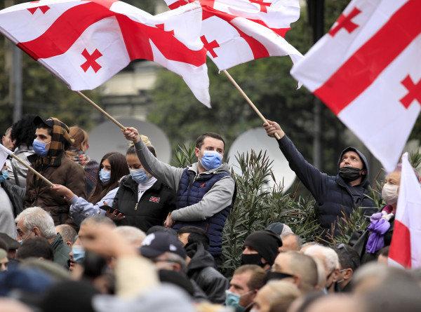 Грузинский бойкот выборов не одобрили в США и ЕС