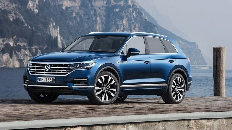 Volkswagen Touareg теперь умеет парковаться сам