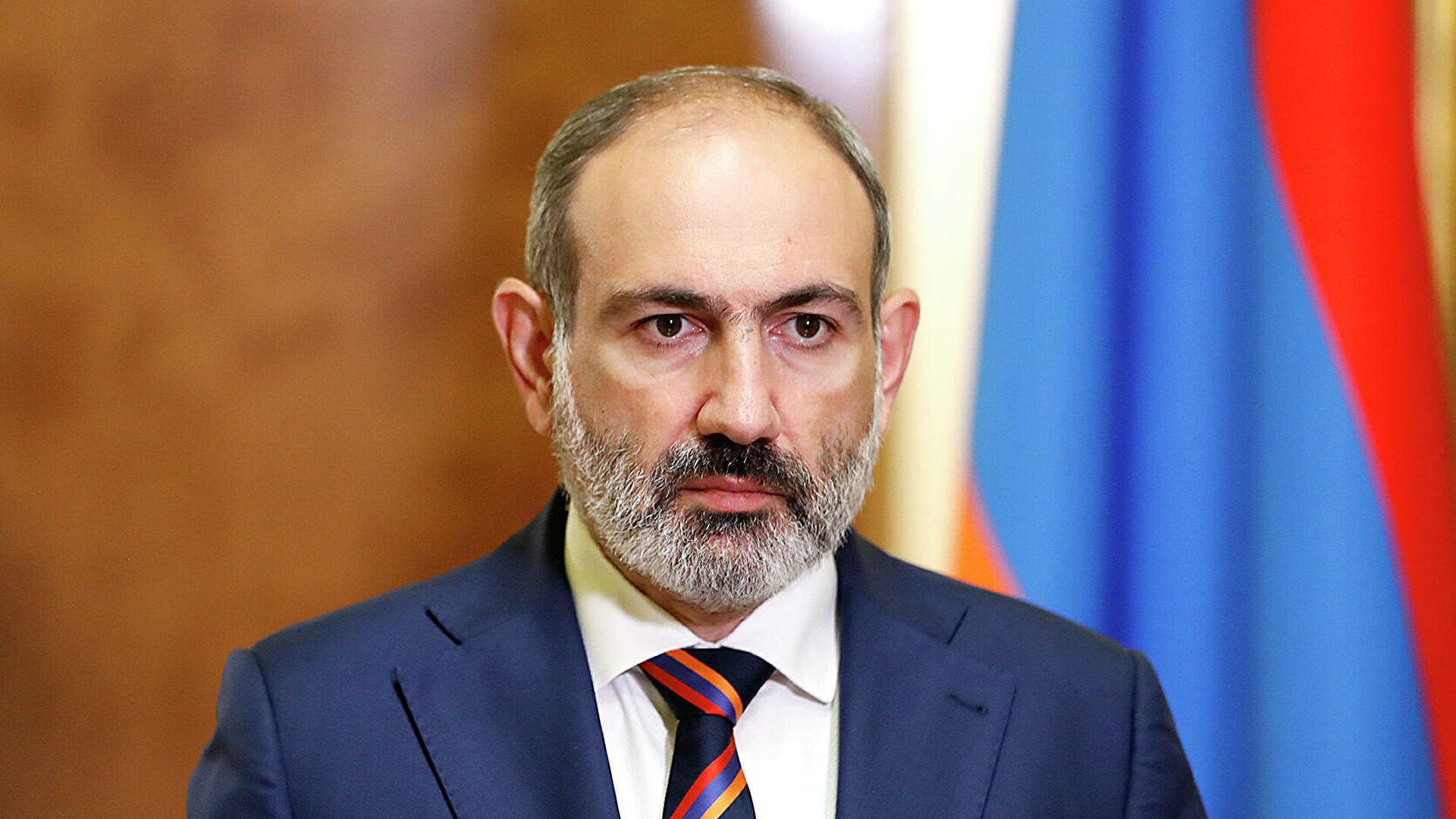 Пашинян выступил с обращением к народу