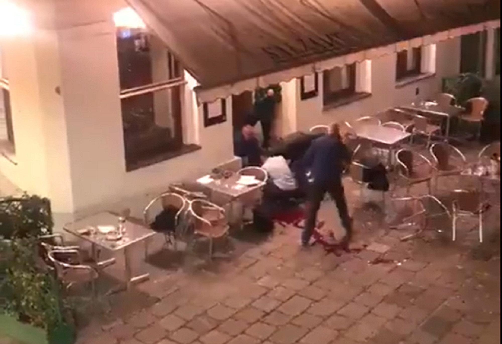 В Вене произошла серия терактов
