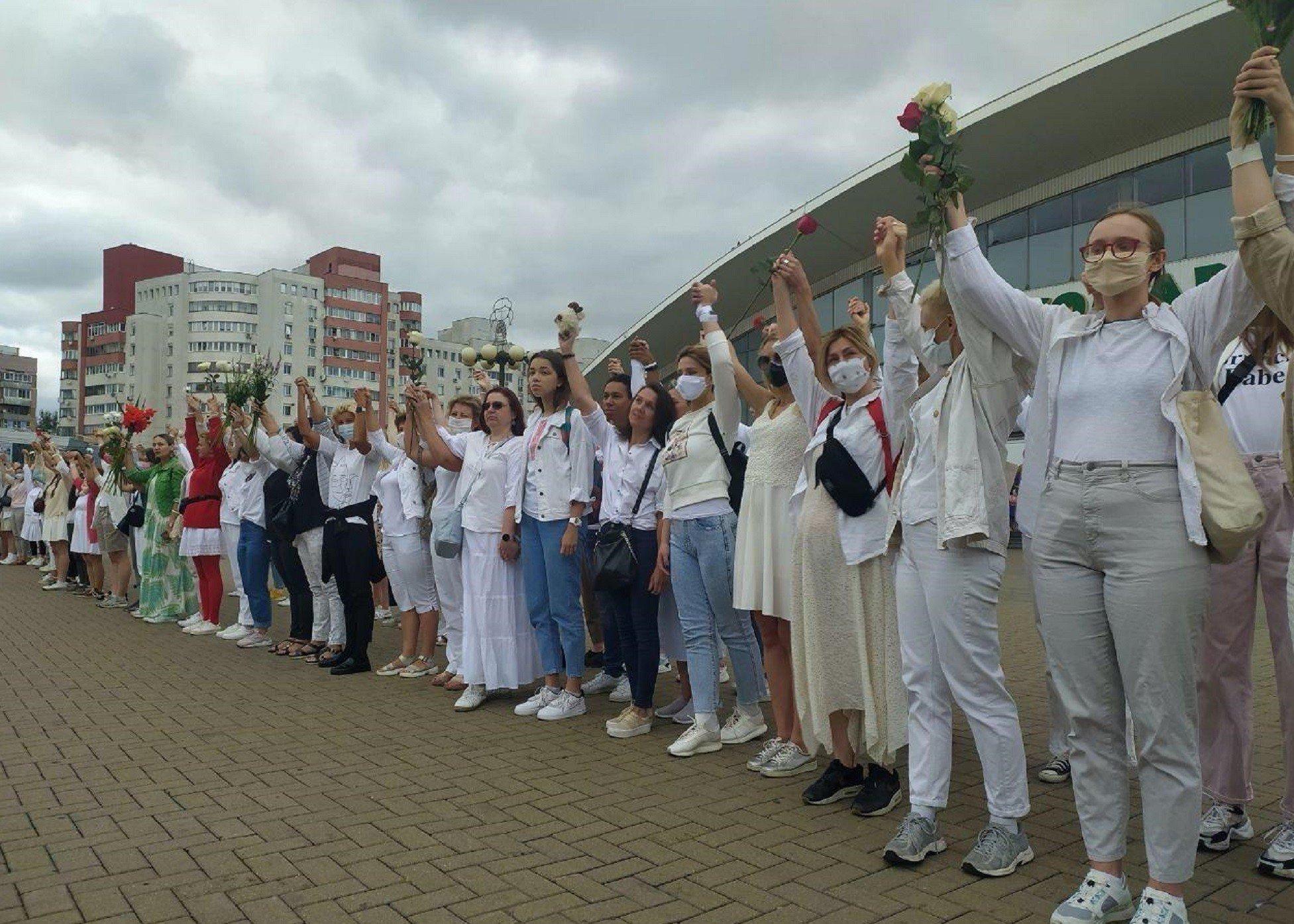 Как меняются протесты в Беларуси от центра к окраинам