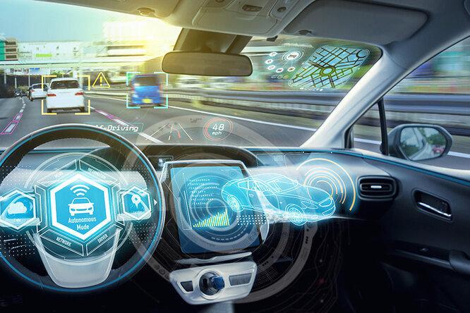 Беспилотные авто смогут видеть дорогу при любой погоде
