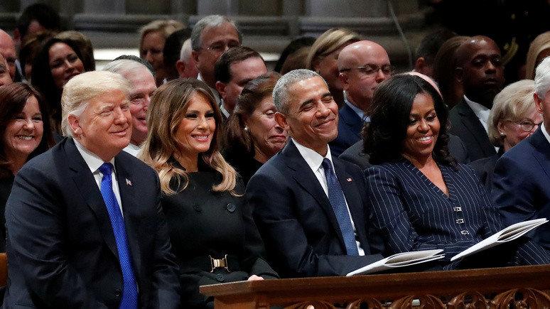 Супруги Обама снимут комедийный сериал о правительстве