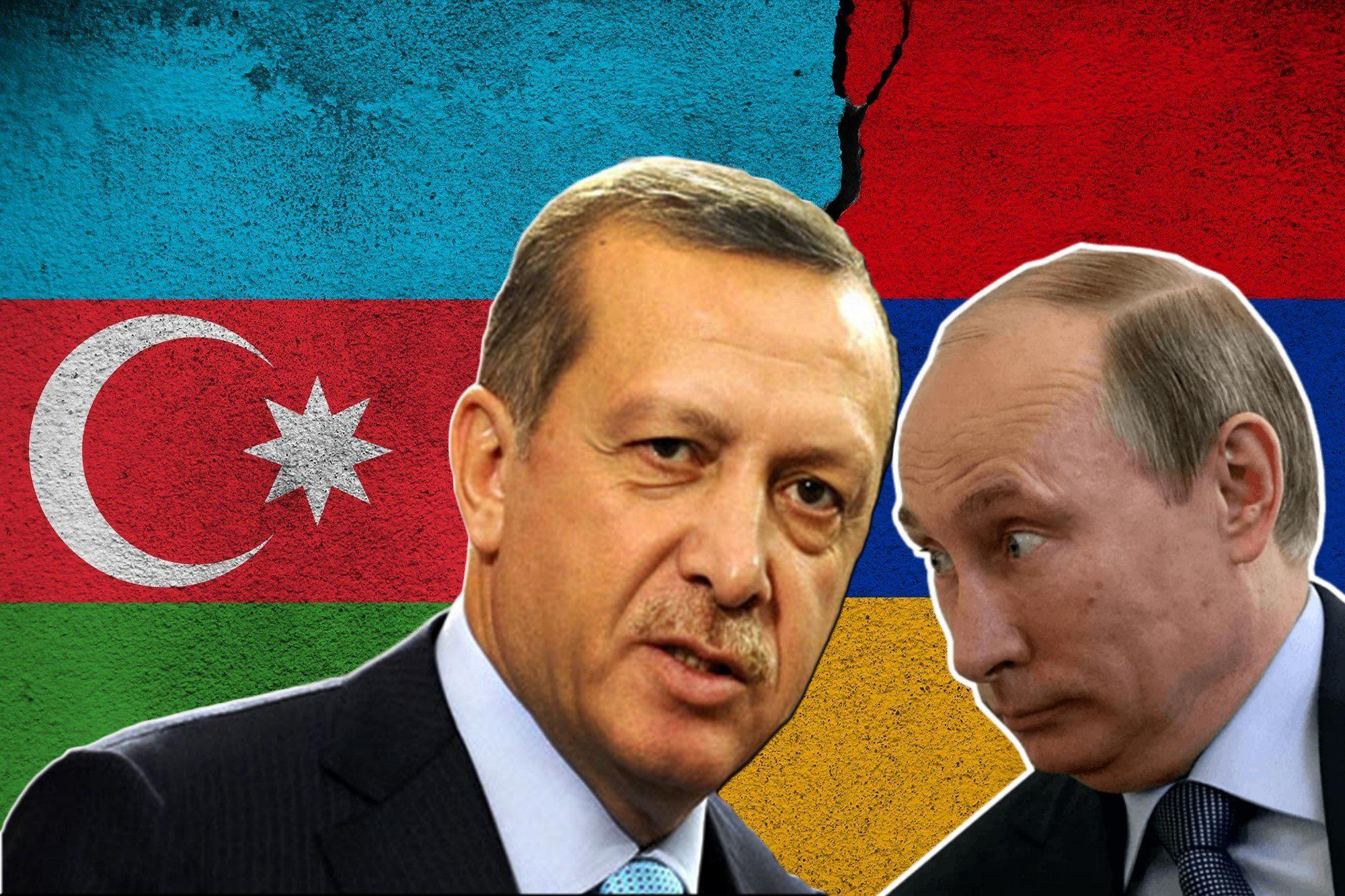 Россия и Турция спорят из-за турецких военных в Азербайджане