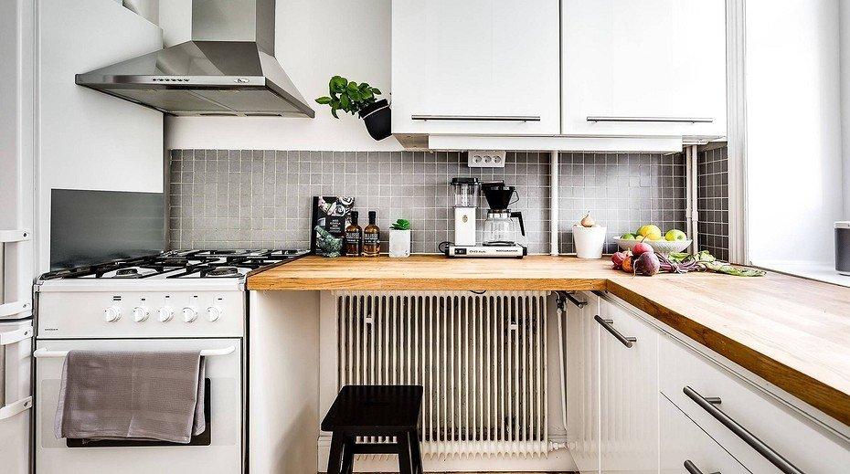 7 полезных решений для кухни с ограниченным пространством