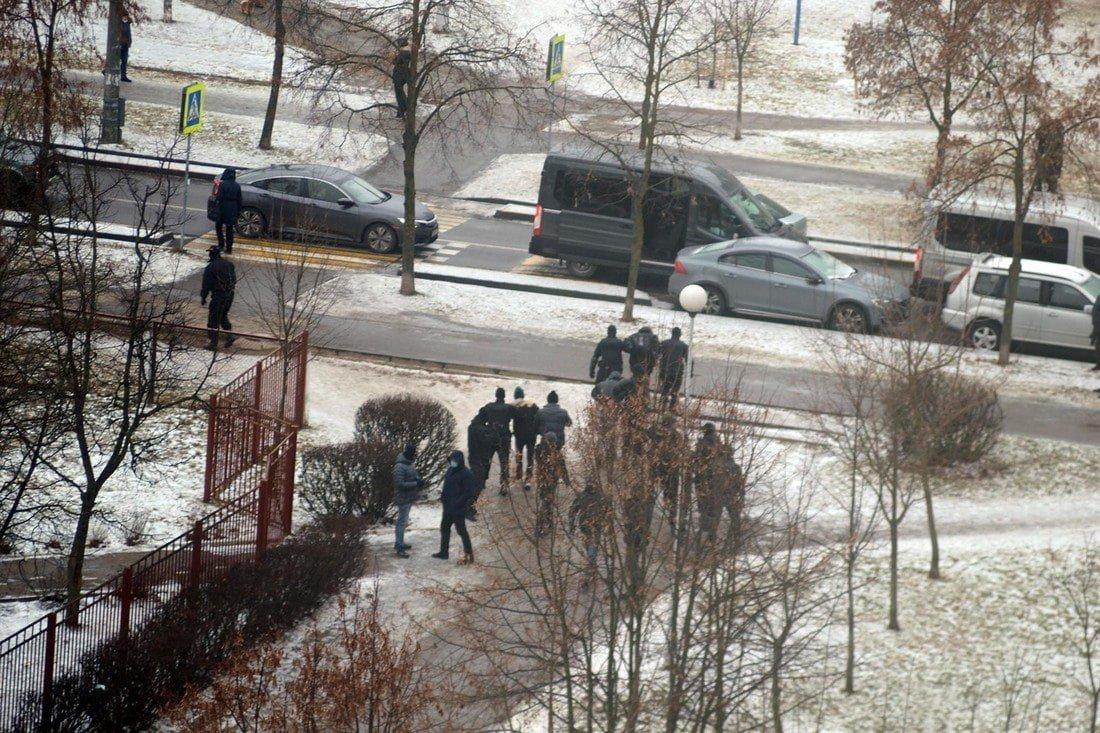 Протестный марш в Минске: начались задержания
