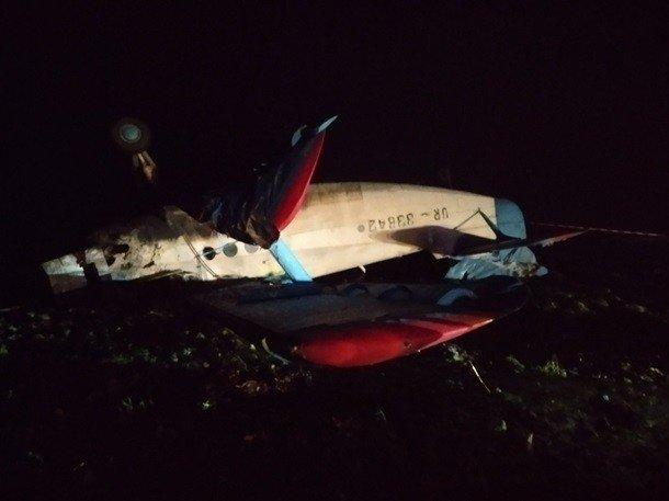 На Тернопольщине упал легкомоторный самолет, есть жертва