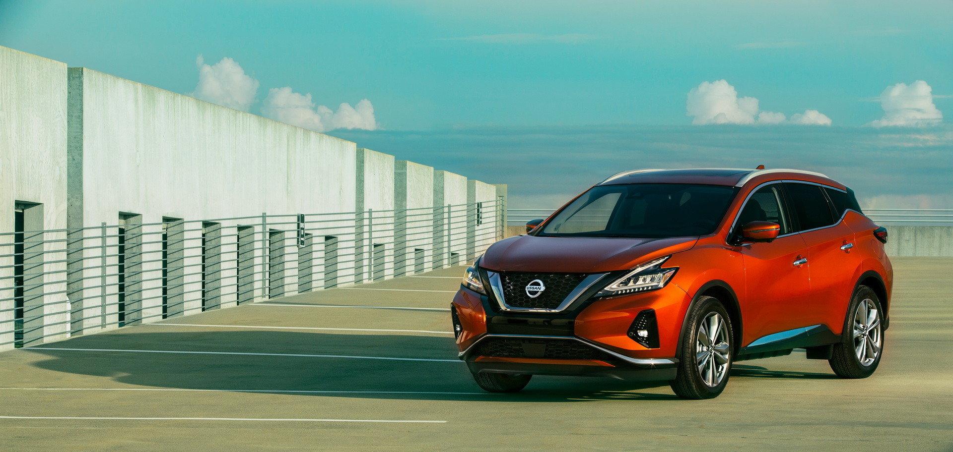 Кроссовер Nissan Murano получил максимальный пакет безопасности