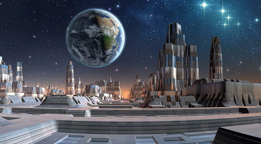 Как будет выглядеть первый внеземной город