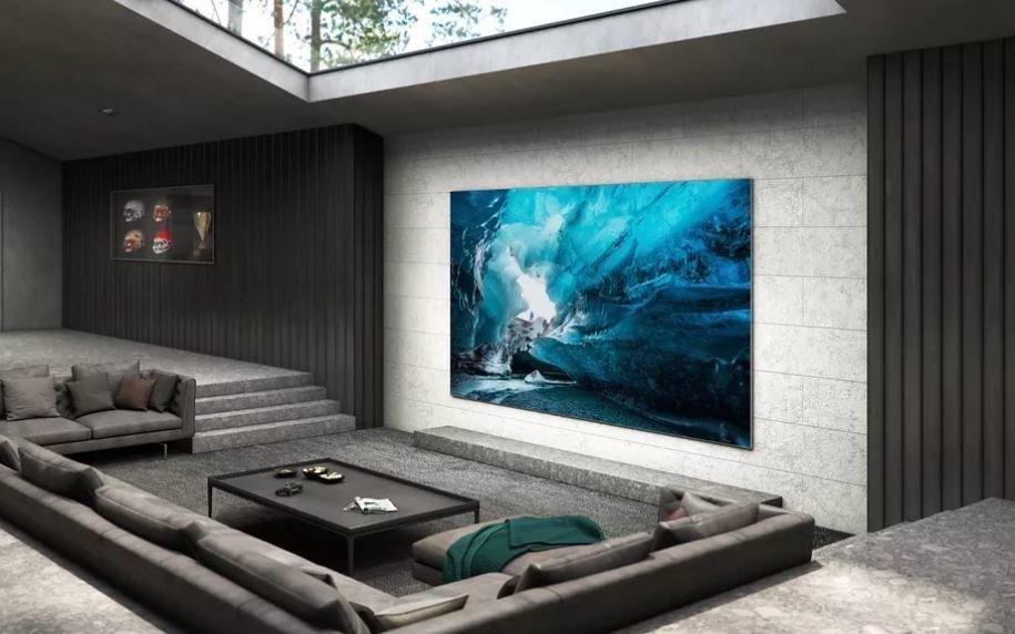 Samsung анонсувала дуже великий телевізор