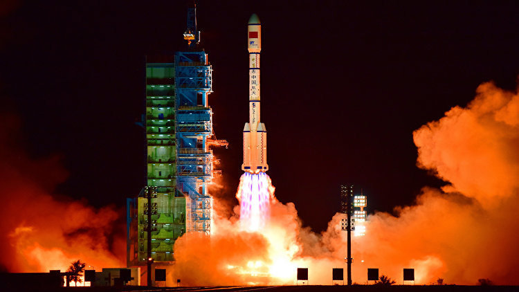 Китай запустил на орбиту новую ракету-носитель
