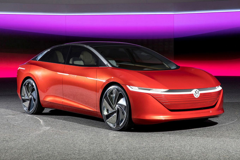 Volkswagen выпустит два электрических седана