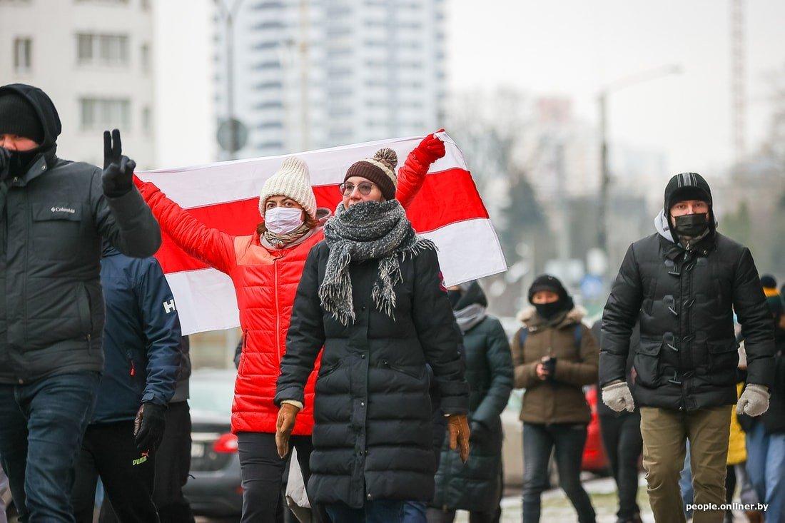 Протесты в Беларуси: уже более 100 человек задержано