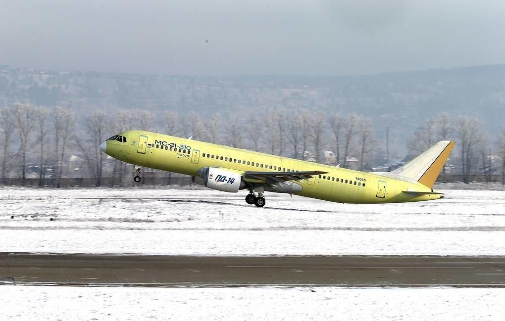 Россия испытывает новый пассажирский самолет