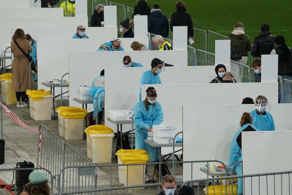 Дания превратила национальный стадион в центр тестирования