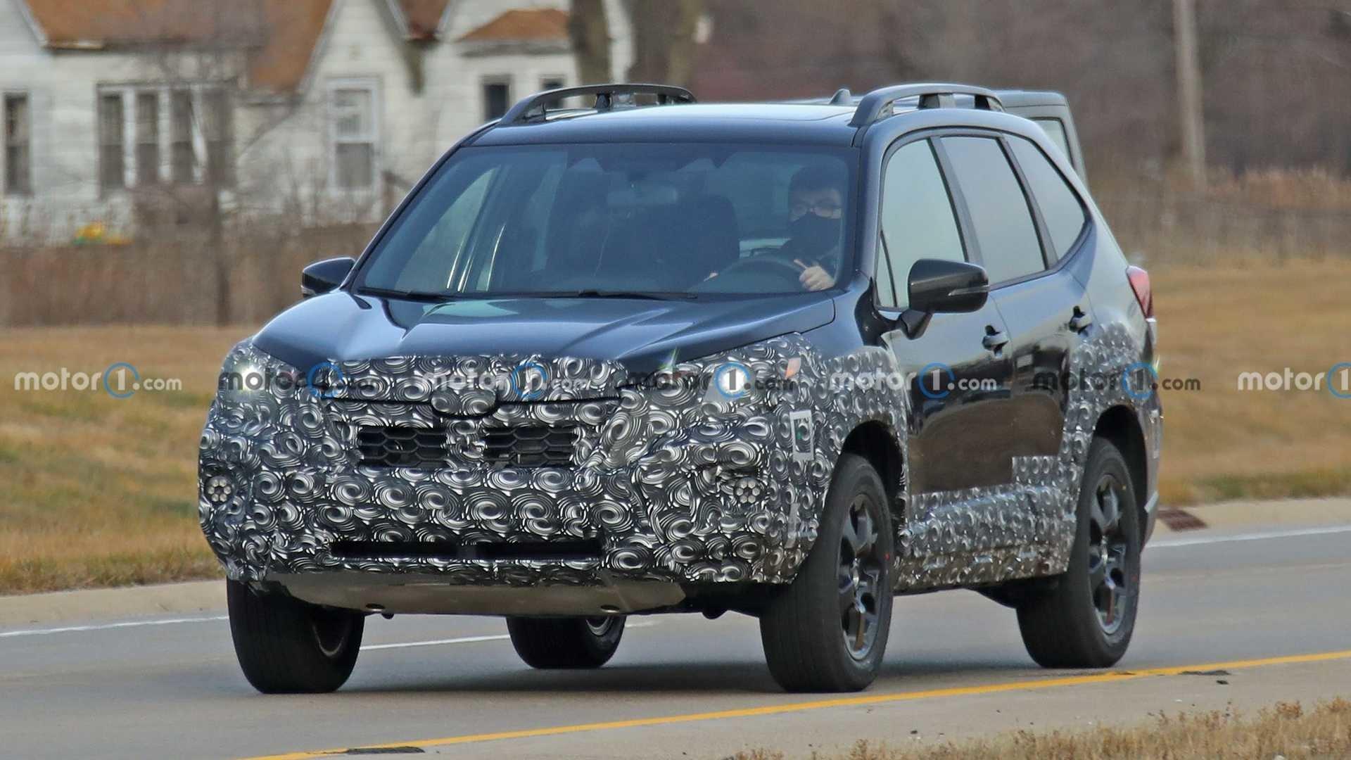 Subaru Forester 2022 в новом дизайне