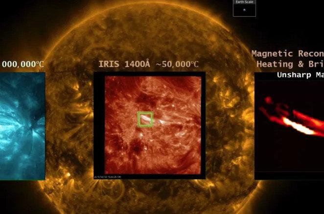 """На Сонці вперше виявили """"наноспалахи"""""""