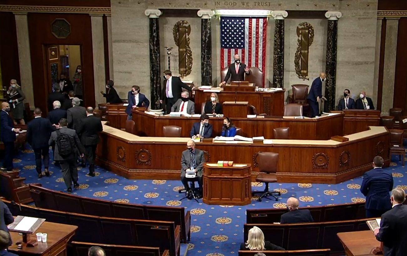 Конгресс США возобновит утверждение результатов выборов