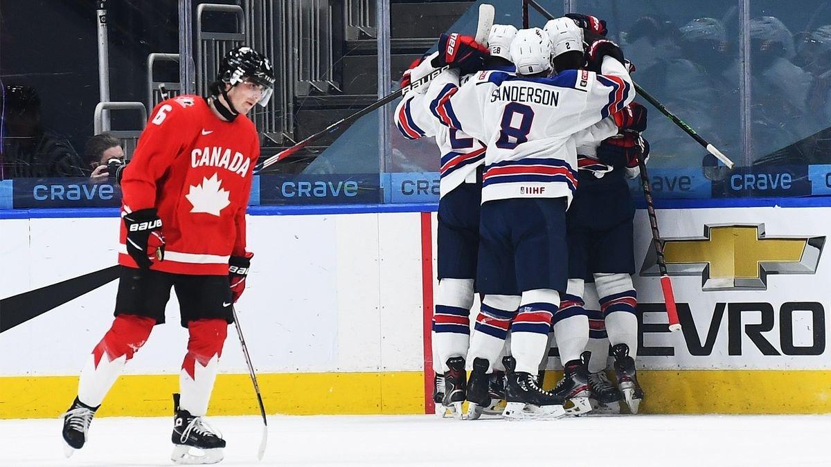 Канада - США: обзор финала молодежного чемпионата мира