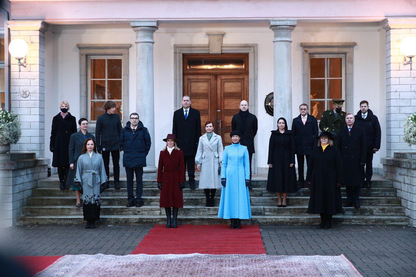Впервые в Эстонии премьер-министром утвердили женщину