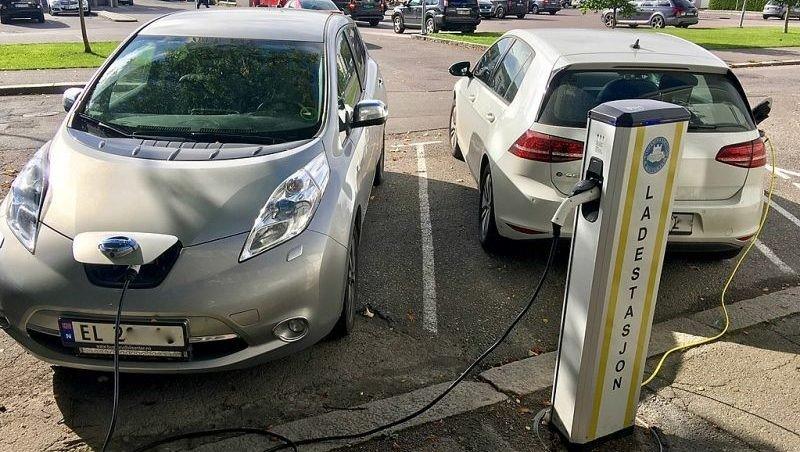 В Норвегии электромобили завоевали рынок