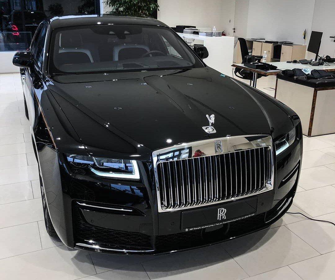 В Украине появился новейший Rolls-Royce Ghost