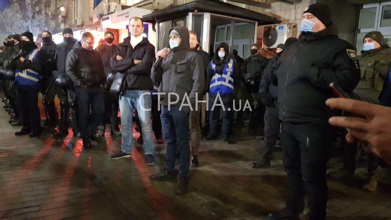 Посольство Ізраїлю в Києві взяли в облогу націоналісти