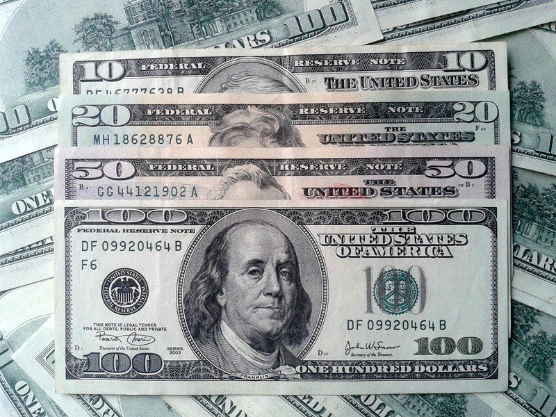 Курс валют в банках Славянска на вторник, 05 января