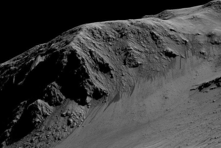 Раскрыта тайна марсианских ледников