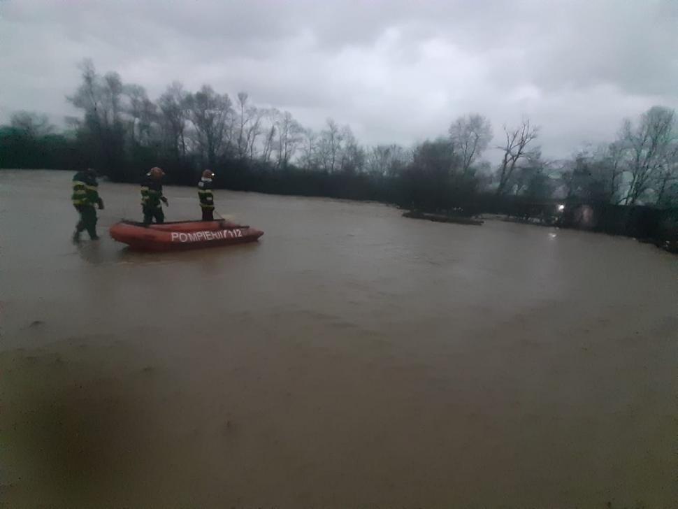 Наводнение в Румынии (фото)