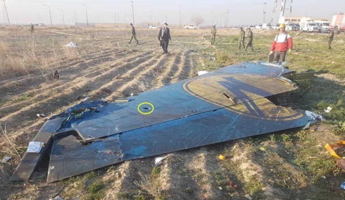 Украина начала исследовать планшет со сбитого в Иране самолета МАУ