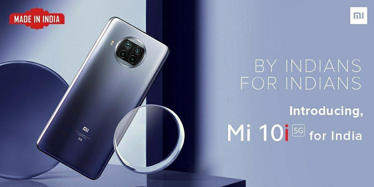Xiaomi представила смартфон Mi 10i 5G